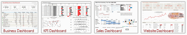 Excel School Dashboards