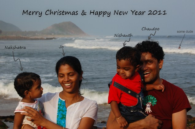 Merry Christmas & Happy New Year 2011