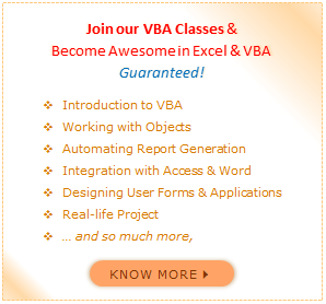 VBA Classes from Chandoo.org - Learn Microsoft Excel VBA & Macros