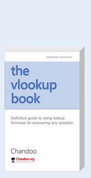 The VLOOKUP book - learn how to use Excel VLOOKUP and other lookup formulas